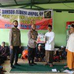 Keluarga besar Alumni Akpol Angkatan tahun 89 batalyon Dharana Lastarya kunjungi Panti Asuhan Al Haq Kalimantan Barat