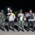 Pimpin Patroli Motor gabungan Skala besar TNI-POLRI Dan Satpol-PP, danramil 1407-07/ Tanete Riattang , Kapten CHB Eko Ermawanto Berpesan !