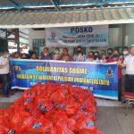 Alumni Angkatan 89 Akpol batalyon Dharana Lastarya Sumbang 1.000 Paket Sembako disulsel ,Ini harapan irwasda Polda Sulsel