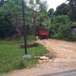 Jalan dan jembatan Rusak karena Truk Tambang ,Tokoh Pemuda masyarakat Desa Nagauleng sesalkan pembiaran ini !!!
