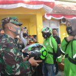 Begini pesan Dandim 1407/ Bone , saat Hadiri launching Gojek Bone ,Usai peresmian Toko Tani Indonesia center di kantor ketahanan pangan kab Bone