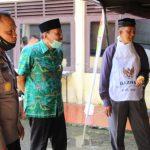 Wakil Bupati Bone Bersama Baznas Kunjungi Dapur Lapangan TNI-POLRI Di Mako Batalyon C Pelopor, Begini Harapan Wabup Bone