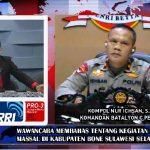 RRI Jakarta Kupas Pelaksanaan Penyemprotan Disinfektan Ala Brimob Bone