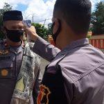 Demi Dapatkan Rekomendasi Dari Gugus Tugas PCC 19  Untuk Kegiatan Keagamaan di Masjid, Ini Yang Dilakukan Oleh Batalyon C Pelopor