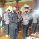 Setelah Mendapatkan Izin Dari Gugus Tugas PPC 19, Mesjid Babul Ikhlas Batalyon C Pelopor Gelar Sholat Jum'at Berjamaah