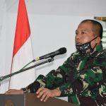Sosialisasi pemutakhiran data dan penyusunan RKA TNI AD satker Korem 141/TP , dipimpin langsung Letkol inf Bobbie Triyanto S.I.P