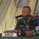 "Danrem 141/ tp Brigjen TNI Djashar Djamil SE.MM (Danlat) Resmi buka Latposko 1 ""Perisai Petir XX"" T.A 2020 kodim 1424/ Sinjai"