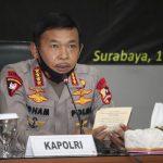 *Panglima TNI dan Kapolri pimpin Rapat terkait penanganan Covid-19 di propinsi Jawa timur*