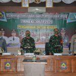 *Danrem 141/ tp Brigjen TNI Djashar Djamil SE.MM. Hadiri penandatanganan dan penyerahan MOU TMMD ke-108 .T.A. 2020*