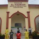 Dandim 1407/Bone, Pimpin Penyemprotan disinfektan Dibeberapa Masjid di Bone