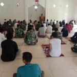 Memasuki masa New Normal Covid-19, Masjid Manunggal Kodim 1407/Bone, kembali dibuka untuk shalat berjamaah