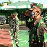*Agar Ilmu dasar militer Tetap Terjaga: Personil Kodim 1407/Bone, Latihan PPM*