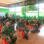 Personil Kodim 1407/Bone dan Persit KCK Cabang XXV, Mengikuti Sosialisasi Tanaman Hidroponik