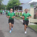 Pelihara Kesehatan, Personil Kodim 1407/Bone Rutin melaksanakan Aerobik