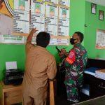 Update Data Terbaru Babinsa Koramil 1002-08/Kasarangan Laksanakan Puldata.