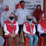 Peringati Hari Donor Darah Sedunia, Bupati Laura Sambangi Kantor Unit PM