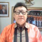 Menteri Tjahjo Berbagi Tiga Aspek Penanganan Covid-19 di Indonesia