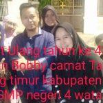 *Sinar bintang dalam bening Berkah ,Ika 93 SMP negeri 4 watampone ucapkan Selamat Ulang tahun ke  42 tahun A.Arman Bobby*
