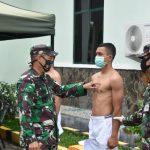 Pelaksanaan Seleksi Calon Taruna Akmil TNI AD Sub Panda Bone TA. 2020