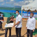*Menteri Sosial Juliari  Turun langsung Realisasikan Janji Presiden Untuk Korban Longsor Bogor*