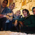*Tetap Jaga imun tubuh di masa new Normal,Ika 93 SMPN 4 watampone gelar Arisan keluarga di Cafe padi*