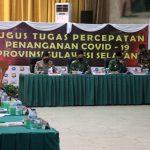 *Dalam Kunjungan Kerja ke Sulsel, Panglima TNI dan Kapolri Gelar Rapat Terbatas Dengan Tim Gugus Percepatan Penanganan Covid 19 Propinsi Sulsel*