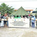 Penyerahan Bantuan Kaporlap dan Penyerahan Bantuan Santunan Tunai Kepada Yang Terdampak Banjir Bandang