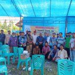 Anggota DPRD Provinsi Sulbar H.Taufiq Agus Hearing Dan Dialog Bersama Masyarakat Mateng