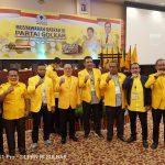 H.Aras Tammauni Terpilih Sebagai Ketua DPD Golkar Sulawesi barat , selamat !!!
