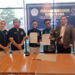 *Novena hotel Resmi Gandeng AAI kabupaten Bone sebagai konsultan Hukum setelah  penandatanganan dilakukan Hari Ini*