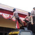 *Sambut HUT Kemerdekaan, Brimob Yon C Gelorakan Jiwa Nasionalisme Dan Kebangsaan Dengan Pasang Bendera Dan Umbul-Umbul*