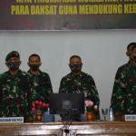 *Danrem 141 Brigjen TNI Djashar Djamil ikuti Apel dansat tersebar Kodam XIV Hasanuddin T.A 2020, Bersama Jajaran Dam XIV*