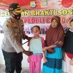 *Kapolres Sinjai AKBP Iwan Irmawan Sik, peduli Anak penderita tumor wajah kunjungi dan berikan bantuan*