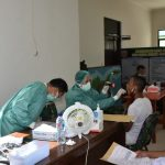 Kegiatan Werving Penerimaan Calon Bintara (Secaba) PK TNI AD Tahun 2020, Sub Panda Bone Korem 141/Tp,