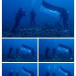 *Libatkan beberapa unsur Pasukan Selam Yon C Pelopor Sukses  kibarkan bendera Merah putih dikedalaman 20 meter bawah laut Teluk Bone*