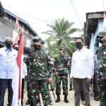Pangdam VI/Mulawarman Awali Kunjungan Kerja di Wilayah Kodim 0911/Nunukan Perbatasan Indonesia-Malaysia