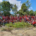 Kodim 0911/Nunukan dan NTC Gelar Trabas di JIPP Indonesia-Malaysia, Peringati Hari Kemerdekaan RI ke 75