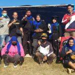 Pasukan La Maddaremmeng bersama- Laskar Badai Biru juara Satu dan dua event kemah bakti konservasi TWA Cani Sirenreng 2020