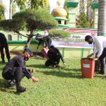 Gelar kerja bakti sambut HUT Korps Brimob Polri ke 75 Yon C Pelopor Bone bersihkan Rumah ibadah