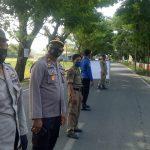 Gelar operasi Yustisi gabungan, Personil Polsek Galsel Polres Takalar Disiplinkan Warga