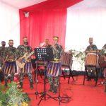 Tampil memukau Tenri betta Perkusi Yon C  di Semarak  puncak  HUT  korps Brimob ke 75 Tahun