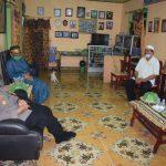 Kapolres Barru temui pimpinan ponpes Al Ikhlas Addary takkalasi di kediamannya ,Ada Apa Yach!!!!