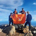 Pendaki pemula Putra putri  Anak  Bonepal sukses kepuncak Bawakaraeng bersama PP Bonepal