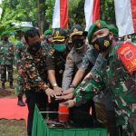 Danrem 141/tp ,Brigjen TNI Djashar Djamil Resmikan Koramil 05/Tompobulu kodim 1422 Maros