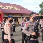 Batalyon C Pelopor Tindak Tegas Personel Yang  Kurang Disiplin