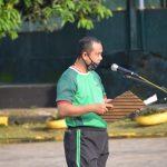 Jaga kebugaran tubuh personil , Korem 141/ Tp gelar Apel pagi dilanjutkan senam bersama dipimpin langsung Oleh Letkol Cba Sungko Dasmanto S.E.M.M