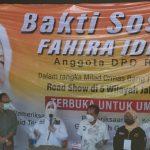Bakti Sosial Fahira Idris Menyapa Warga Jakarta Pusat.