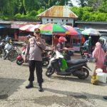 Operasi Yustisi, Polres Sinjai Bersama TNI dan Satpol PP Sasar Pasar Sentral Disiplinkan Warga Protkes
