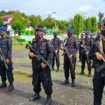 Pilkada Soppeng Kondusif , Pasukan Brimob Batalyon C Pelopor Balik Kanan ke Mako