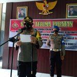 Kapolres Sinjai Pimpin Upacara Serah Terima Jabatan Kabag Sumda dan 2 (Dua) Kapolsek